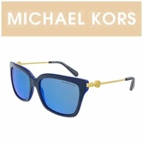 "Michael Kors ""ABELA 1"" Navy Cobalt Sunglasses"